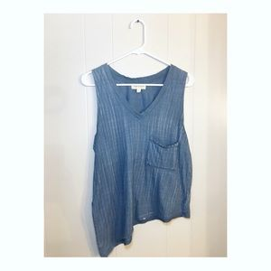 Cloth & Stone asymmetric tank top